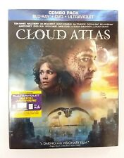 Cloud Atlas ( Blu-Ray, DVD 2-Disc, no digital copy!!)Tom Hanks Halle Berry