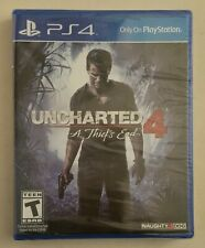 UNCHARTED 4 A Thief's End 2016 Sony Playstation 4 PS4 Factory Sealed NEW