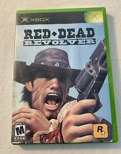 RED DEAD REVOLVER ORIGINAL XBOX COMPLETE VIDEO GAME WITH CASE $ MANUAL ROCKSTAR