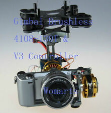 Gimbal Brushless Two-axis Kit +4108-130T Motor For Sony NEX ILDC Camera BGC2.0