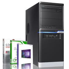 Compute PC AMD FX Bulldozer Quad 4x3.80GHz 8GB 120GB SSD Windows 10 Cardreader