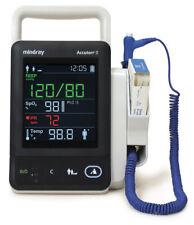 Mindray Accutorr 3 Vital Signs Monitor - Masimo SpO2, NiBP, Temp - Warranty