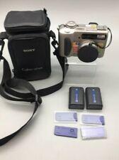 Sony Cyber-shot DSC-S75 3.3 MP Digital Camera 6X Zoom Bundle - B24