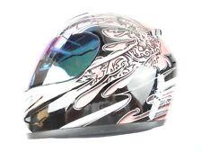 Bilt Blaze Racer Helmet Full Face Motorcycle Size Small S Pink