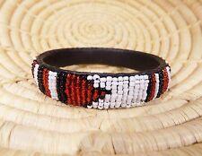 African Handmade Maasai Bracelet Massai Masai bangle ethnic tribal LRG jbml295