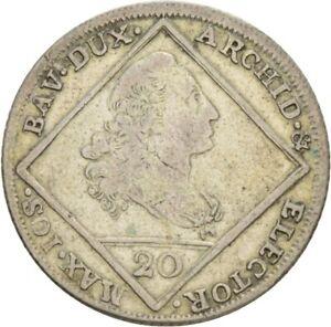 Künker: Bayern, Maximilian III. Joseph, 20 Kreuzer 1772, Madonna