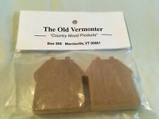 New listing The Old Vermonter Country Wood Products 2 Mini Houses