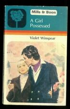 Girl Possessed by Violet Winspear (Paperback, 1981)