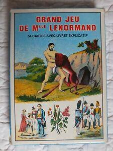 Ancien JEU de CARTES CARTOMANCIE // Grand Jeu de Melle LENORMAND / GRIMAUD