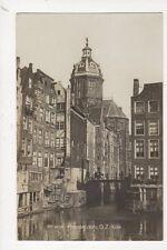 Amsterdam O Z Kolk Vintage RP Postcard Netherlands 643a