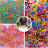 Cute Baby Rubber 300pcs Hairband Holder Hair Ties Plaits Accessory