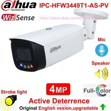 Dahua IPC-HFW3449T1-AS-PV 4MP Full-Color AI Camera Active Deterrence Mic Speaker
