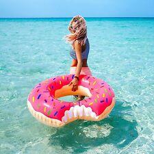 Flotador DONUT aro hinchable para Piscina playa Colchon colchoneta 80 CM