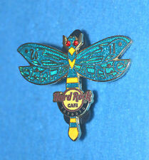 HARD ROCK CAFE 2011 Toronto Turquoise Dragonfly Pin # 61409