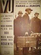 MAGAZINE VU 380 ALCHIMIE DUNIKOWSKI NIGER MIGRANTS EXPULSéS HAREM (7) 1935