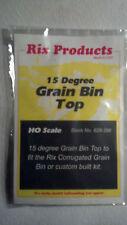 RIX PRODUCTS 15 DEGREE GRAIN BIN TOP Kit HO Scale 628-0356