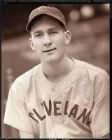 1946 Vintage ROOKIE 8x10 BOB LEMON Indians HOF - GEORGE BURKE Image !! Baseball