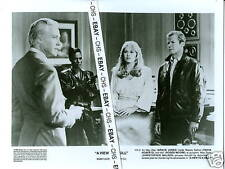 A VIEW TO A KILL 8x10 PHOTO ROGER MOORE CHRIS WALKEN