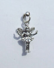 FAIRY WITH OPEN ARMS 3D CHARM 925 STERLING SILVER
