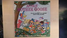 Disneyland Records Walt Disney Presents MORE MOTHER GOOSE LP 1962