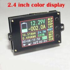 Battery Monitor Meter Wireless DC 120V 500A VOLT AMP AH SOC Remaining Capacity
