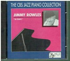 JIMMY ROWLES  -In Paris  - CBS Jazz Piano Collection