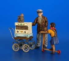 Plus Model Organ Grinder Drehorgelspi Diorama 18 Resin Teile Parts 1:35 Art. 291