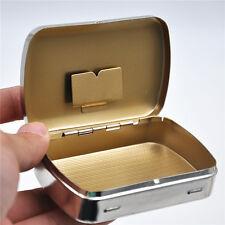 1 x Portable Cigarette Metal Tobacco Box For 70 mm Paper storage case Pocketsize