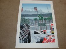 """QUEENS VIEW""  RANDY OWENS SERIGRAPH SIGNED RANDY OWENS"