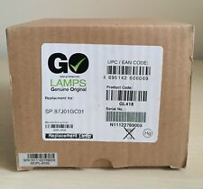 Go Lamps GL418 Projector Lamp 4 Optoma SP.87J01G.C01,DX612,DX752,TW1610, TX728,