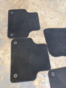Genuine Front & Rear Set Car Floor Mats Audi Q7