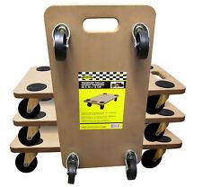 Transportrolle 4er Set Möbelroller Rollbrett Roller Transporter Möbelhund Möbel