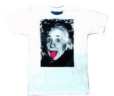 Original Ray Girl & Ray Guy T-Shirt Albert Einstein Tongue Poke Medium M Hipster