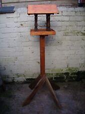 wooden garden bird table / House