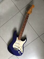 Fender Stratocaster Rare Electron Blue , MiM , lovely guitar with hard case.