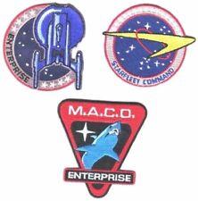 Star Trek Starfleet Command Uniform/Costume Cosplay Patch Set of 3