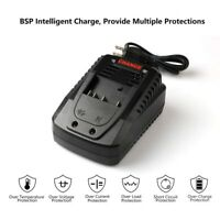 For Bosch 14.4V 18V Lithium-ion Battery Fast Power Supply Charger US/EU/AU Plug