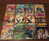 VINTAGE lot of 12 G.I. JOE comic books by MARVEL! COPPER AGE Yearbook Tales of