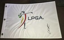 Lydia Ko Signed LPGA Golf Flag With Proof