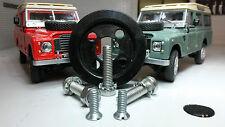 Séries Land Rover Tex Magna Lite Contact Clignotant Caoutchouc Roue & Inoxydable