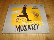 FELIX KLIESER Mozart Horn Concertos BERLIN CLASSICS CD NEW Signed NEU Signiert