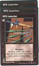 RPG Launcher x3 VTES Jyhad Lot B