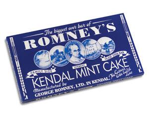 Kendal Mint Cake Romney's White Kendal Mintcake  Pack of  1 x 550g Bar