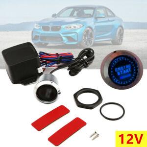 12V Car Ignition Switch Engine Start Push Button For Keyless Entry &Push Starter