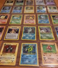 Old School Pokémon Card Lot! Holos! First Editions! Charizard! Read Description!