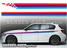 BMW racing stripes 008 graphics stickers decals M Power M sport 1 2 3 4 5 series