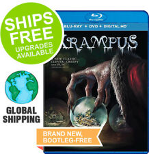 Krampus (Blu-Ray + DVD + Digital, 2015) NEW, Adam Scott, Toni Collette