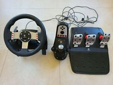 Logitech G27 Racing Wheel for PC, Playstation 3, PS2 - Tested working
