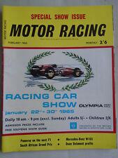 Motor Racing Feb 1965 South African GP, Mercedes W165