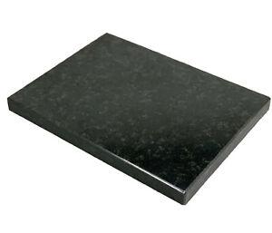 Entkopplungsplatte Nero Assoluto 3 cm Lautsprecherplatte Pizzabackstein Granit